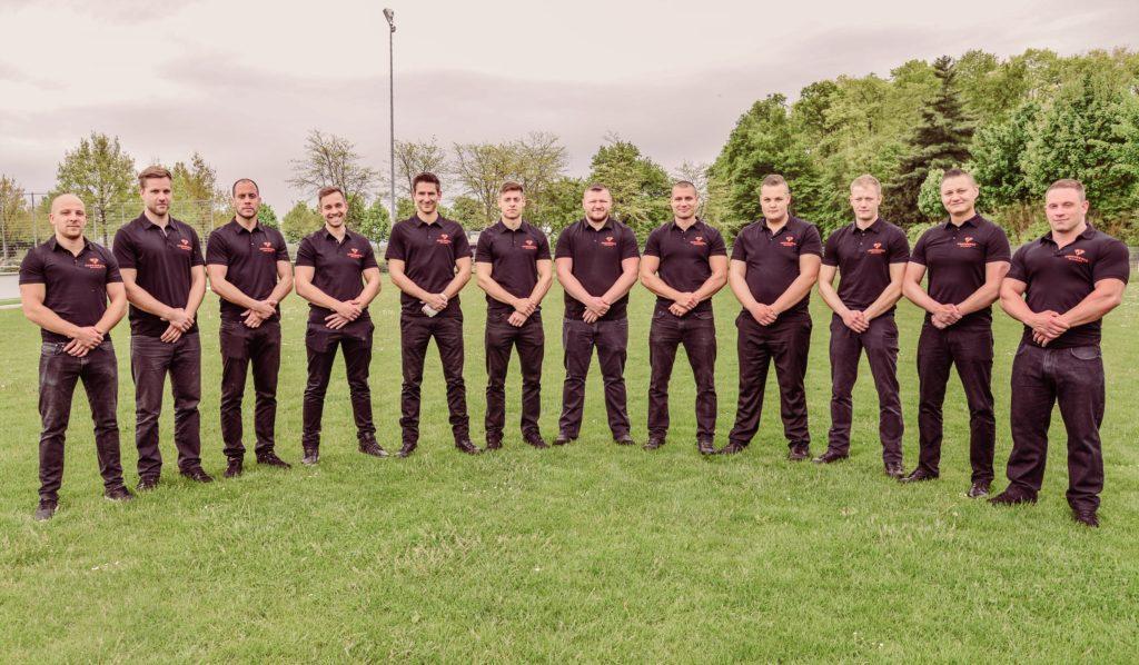Das Team von Confidence Security